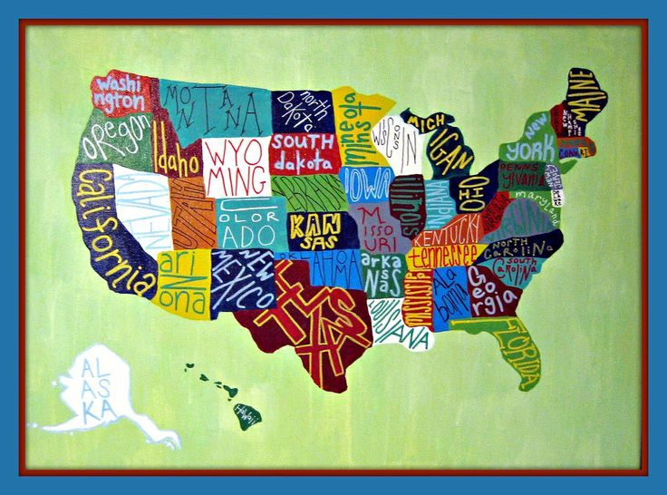 Kids walking to a us map clipart image transparent 17 Best images about COOLEST MAPS OF USA on Pinterest | United ... image transparent