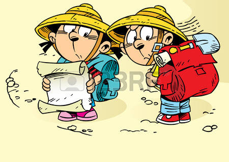 Kids walking to a us map clipart banner transparent stock 1,434 Walking Map Stock Illustrations, Cliparts And Royalty Free ... banner transparent stock