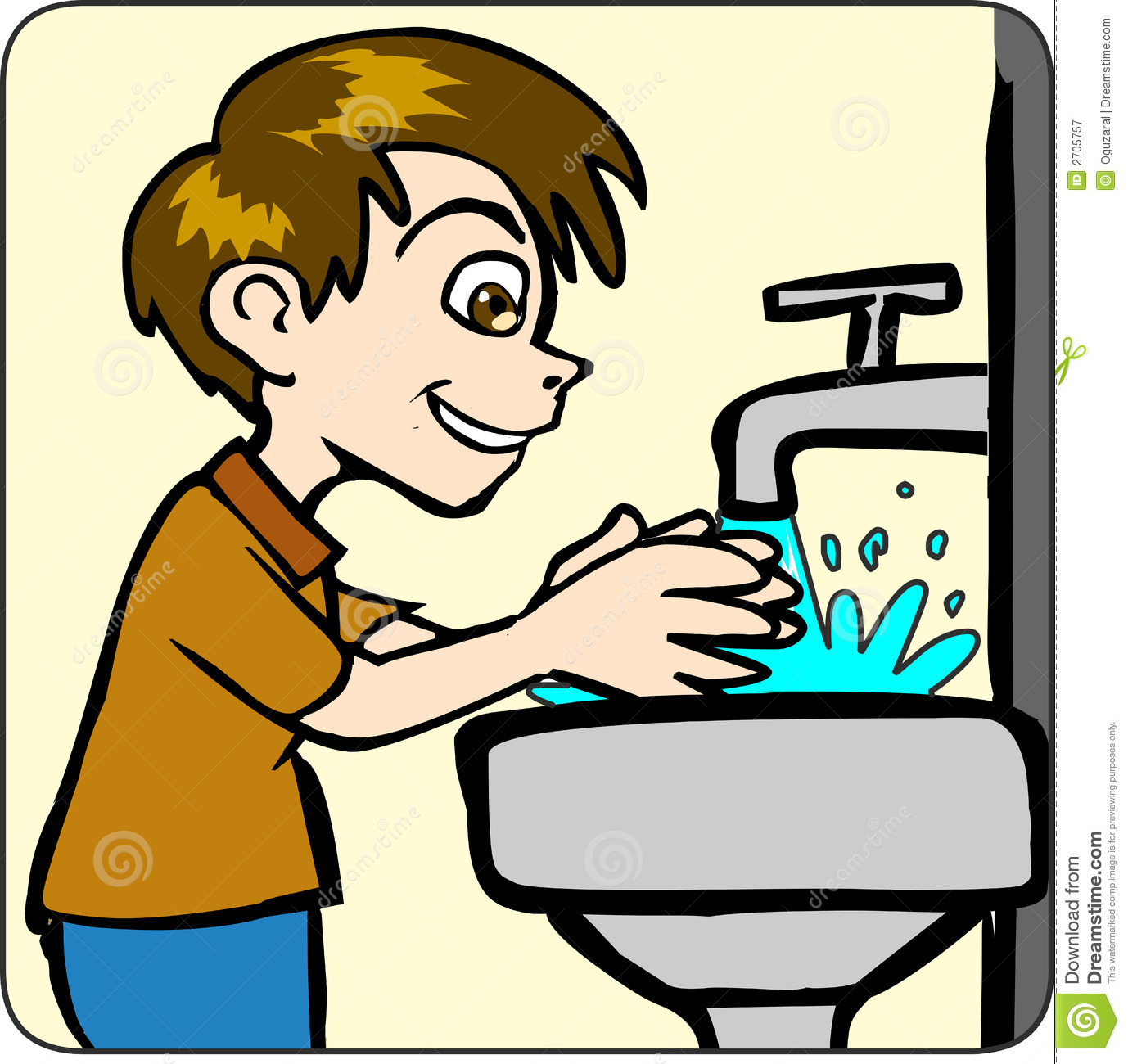 Kids washing hands clipart image transparent library Clipart Kids Washing Hands Collection #20184 - Clipartimage.com image transparent library