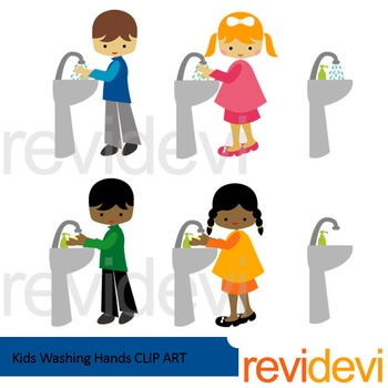 Kids washing hands clipart picture transparent Kids washing hands clip art picture transparent
