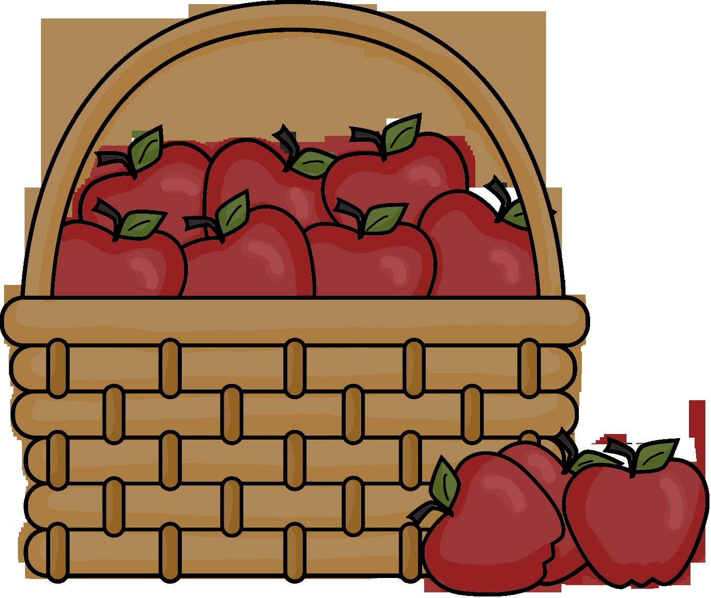 Kids with apples clipart jpg Apple Basket Clipart - Clipart Kid jpg