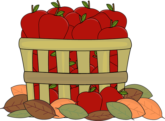 Kids with apples clipart clipart royalty free library Fall Apple Clipart - Clipart Kid clipart royalty free library