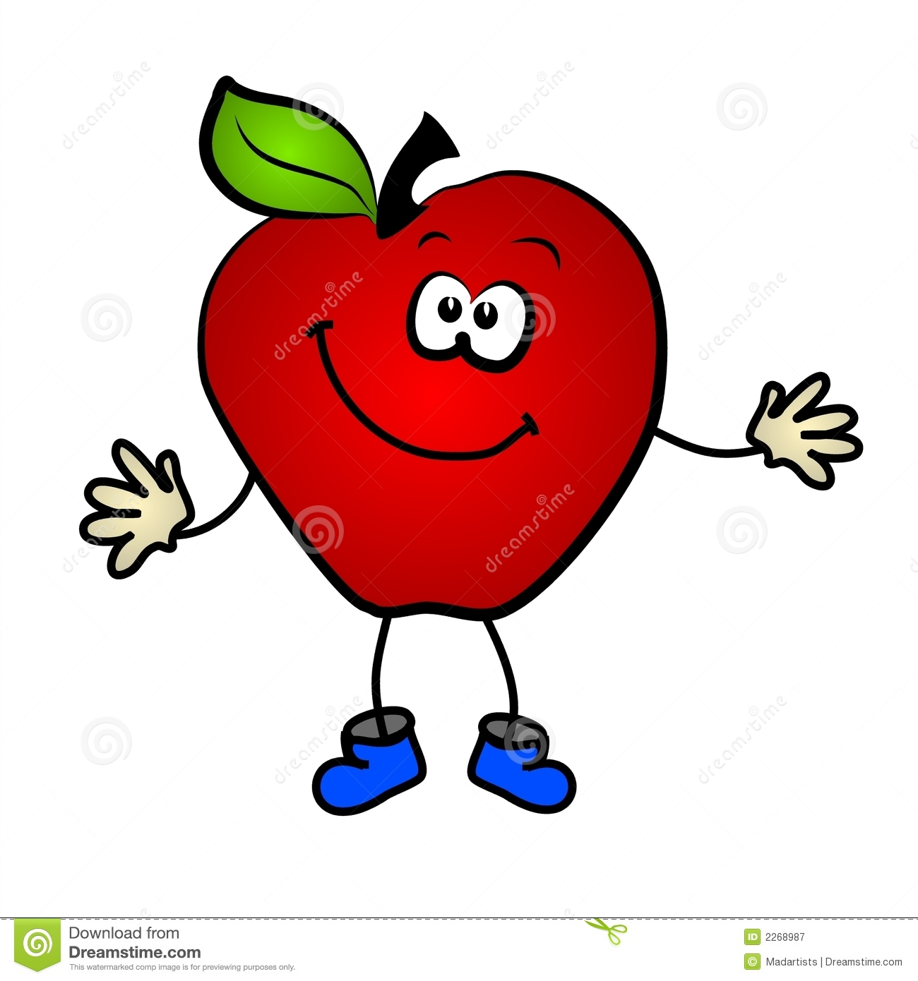 Kids with apples clipart banner freeuse stock Apple Face Clipart - Clipart Kid banner freeuse stock