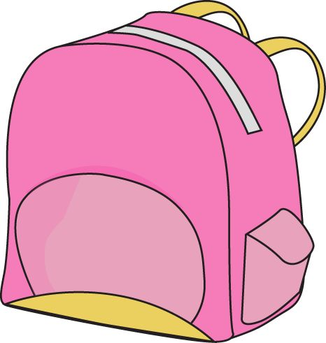 Kids with backpacks clipart svg free library Clipart kids backpack - ClipartFest svg free library