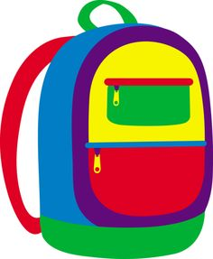 Kids with backpacks clipart royalty free download Kids backpacks for school clipart - ClipartFest royalty free download