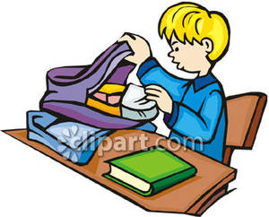 Kids with backpacks clipart jpg transparent library Put away backpack clipart - ClipartFest jpg transparent library