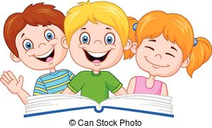 Kids with books clipart png freeuse download Kids reading books Clipart Vector Graphics. 4,302 Kids reading ... png freeuse download