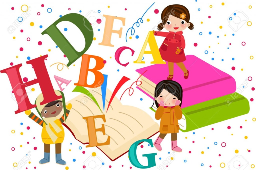 Kids with books clipart svg transparent Open kid books clipart - ClipartFest svg transparent