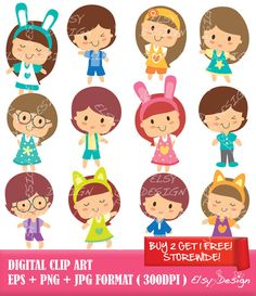 Kids with character clipart clip art Character Clipart Free | Clipart Panda - Free Clipart Images clip art