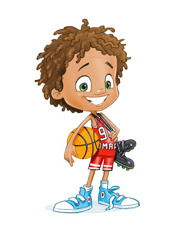 Kids with character clipart graphic black and white download 18 Awesome 3D Kids Characters | Top Design Magazine - Web Design ... graphic black and white download