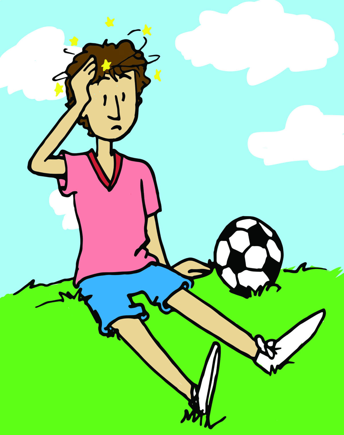 Kids with concussion clipart clip art free Research reveals flaw in concussion recovery | Health & Tech ... clip art free