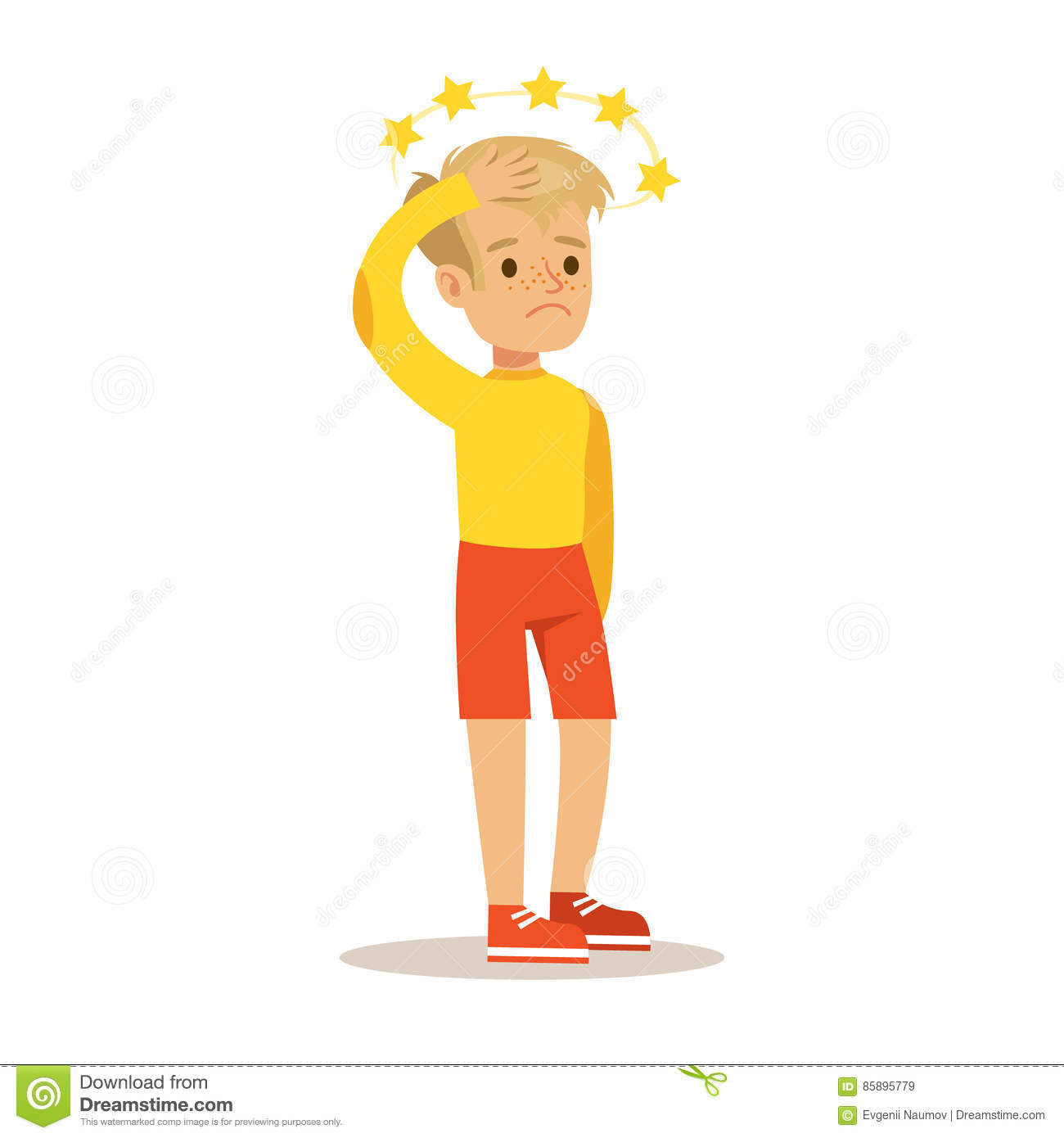 Kids with concussion clipart jpg transparent download Concussion Stock Illustrations – 95 Concussion Stock Illustrations ... jpg transparent download