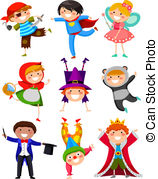 Kids with costumes clipart png free library Costume Clip Art and Stock Illustrations. 95,819 Costume EPS ... png free library