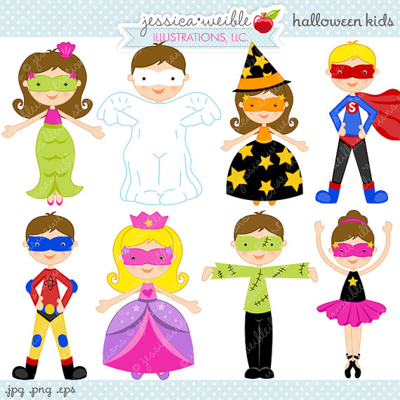 Kids with costumes clipart transparent stock Cute Costume Clipart - Clipart Kid transparent stock
