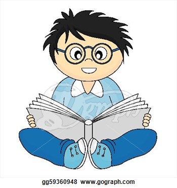 Kids with glasses clipart svg transparent Free Clip Art Children Reading Books | Clipart Panda - Free ... svg transparent