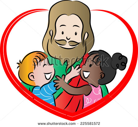 Kids with jesus clipart clipart stock Children love jesus clipart - ClipartFest clipart stock