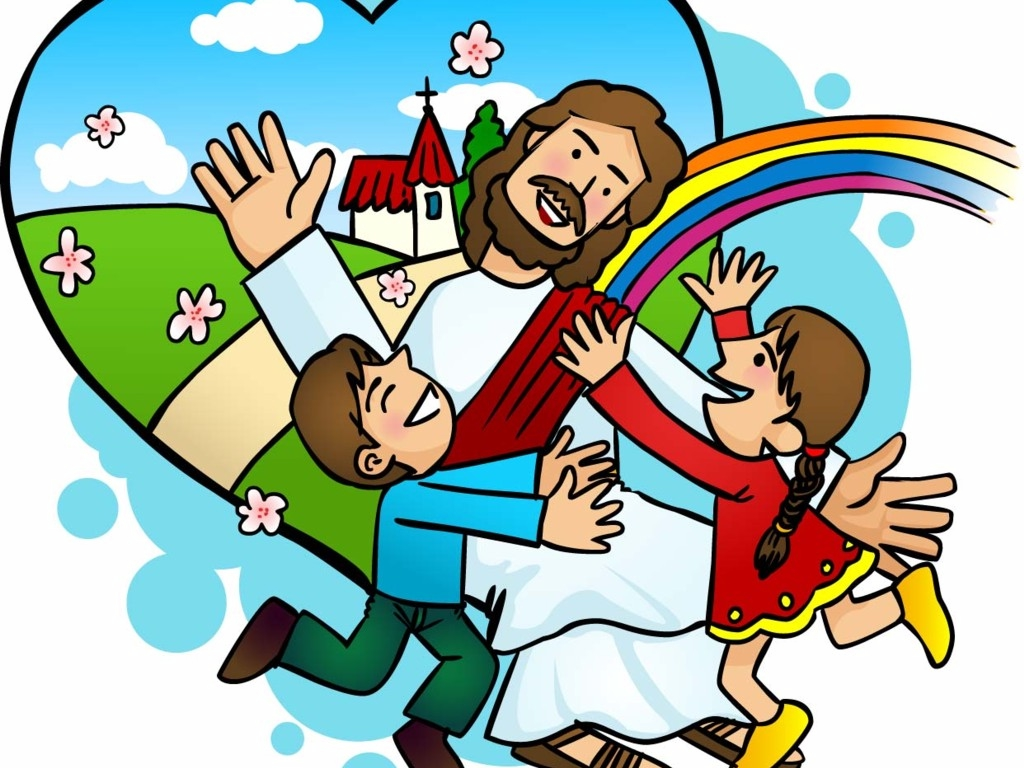 Kids with jesus clipart picture download Kids with jesus clipart - ClipartFest picture download