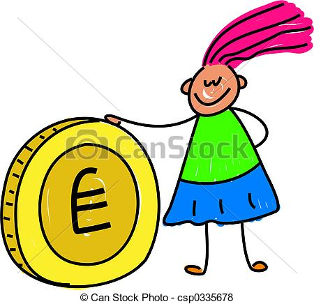 Kids with money clipart clip art free library Money clipart for kids - ClipartFox clip art free library