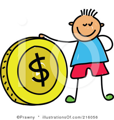 Kids with money clipart graphic transparent library Kids with money clipart - ClipartFest graphic transparent library