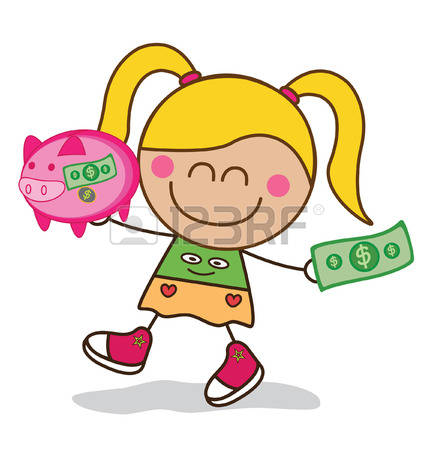 Kids with money clipart clipart free library 1,457 Kids Money Stock Vector Illustration And Royalty Free Kids ... clipart free library