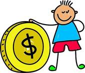 Kids with money clipart jpg black and white library Kids spending money clipart - ClipartFest jpg black and white library