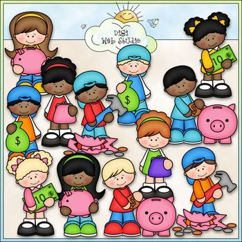 Kids with money clipart free download Kids spending money clipart - ClipartFest free download