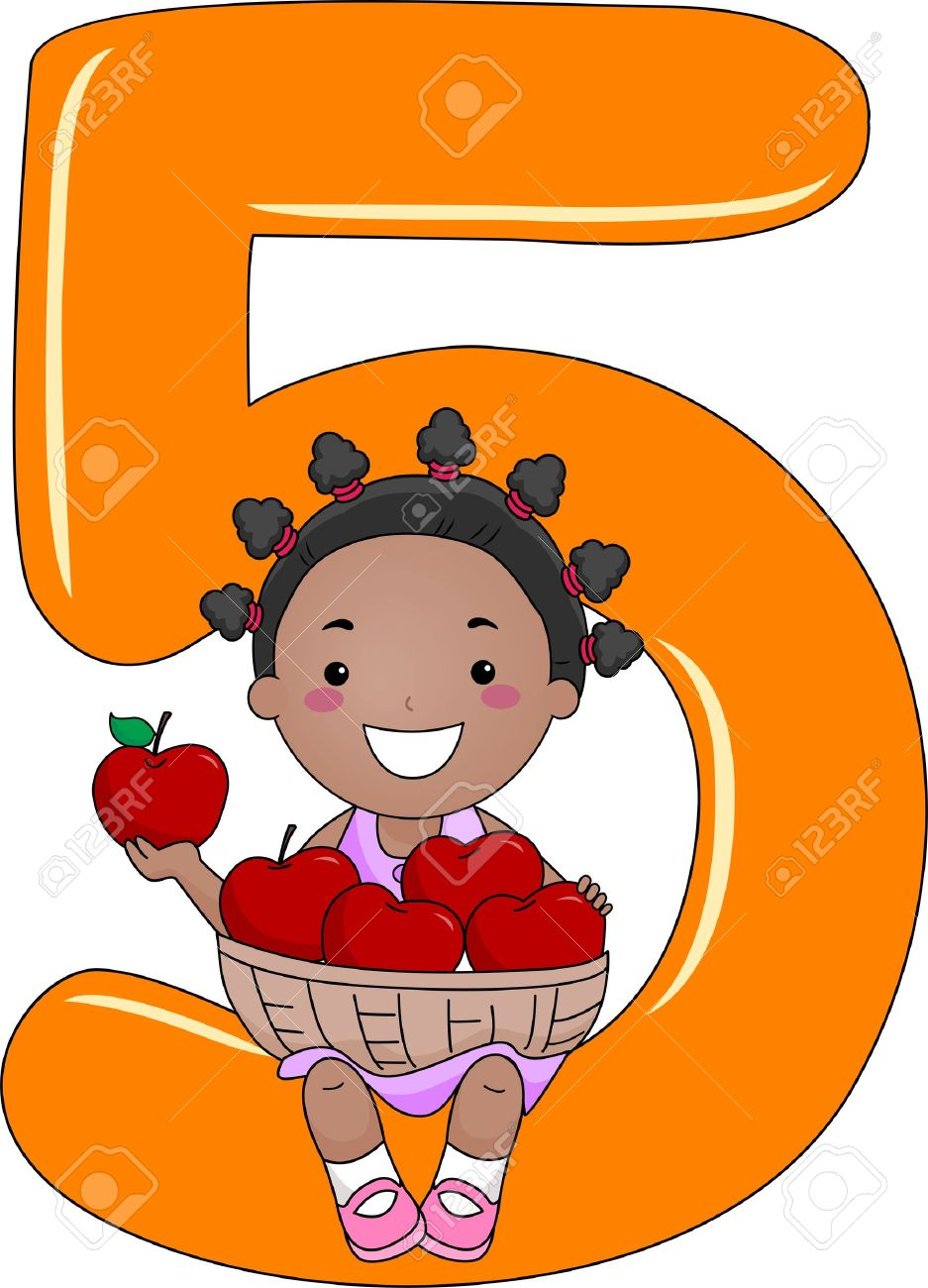 Kids with numbers clipart free stock Numbers clipart kids - ClipartFest free stock