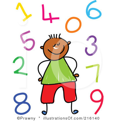 Kids with numbers clipart picture library library Numbers Clipart For Kids | Clipart Panda - Free Clipart Images picture library library