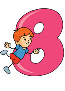 Kids with numbers clipart banner transparent library Related Keywords & Suggestions for Numbers Clip Art For Kids banner transparent library