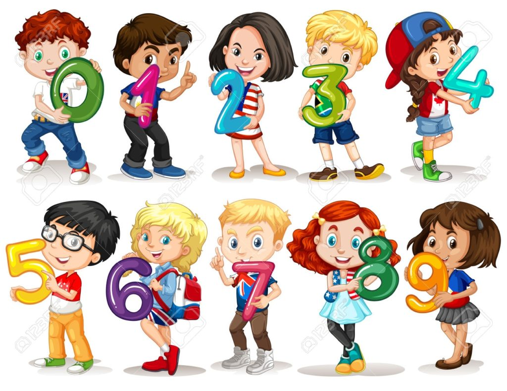 Kids with numbers clipart svg transparent download Kids Numbers Clipart – Clipartsgram.com Number Pictures For Kids ... svg transparent download