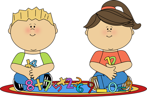 Kids with numbers clipart image free library Kids with numbers clipart - ClipartFest image free library