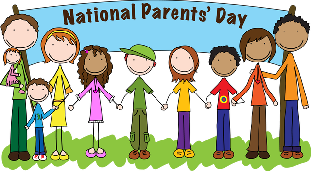 Kids with parents clipart graphic free library Kids parents celebrate clipart - ClipartFest graphic free library