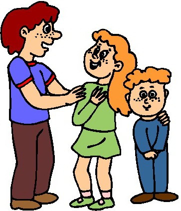 Kids with parents clipart picture stock Kids with their parents clipart - ClipartFest picture stock