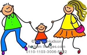 Kids with parents clipart freeuse download Kids with parents clipart - ClipartFest freeuse download