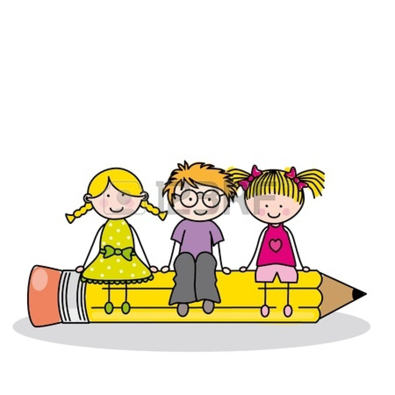 Kids with pencil clipart banner black and white library Writing Clipart – Gclipart.com banner black and white library