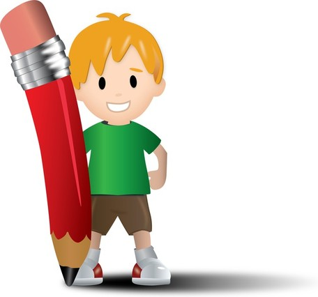 Kids with pencil clipart clipart download Kids with pencil clipart - ClipartFest clipart download
