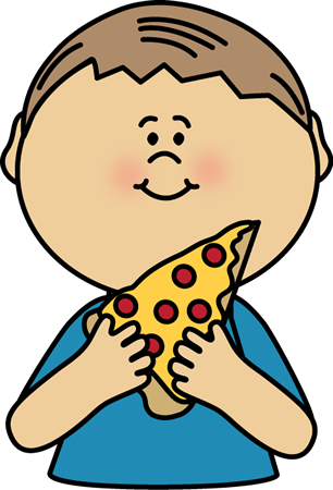 Kids with pizza clipart jpg royalty free Pizza Clip Art - Pizza Images - For teachers, educators, classroom ... jpg royalty free