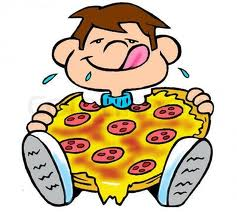 Kids with pizza clipart vector freeuse Kids with pizza clipart - ClipartFest vector freeuse