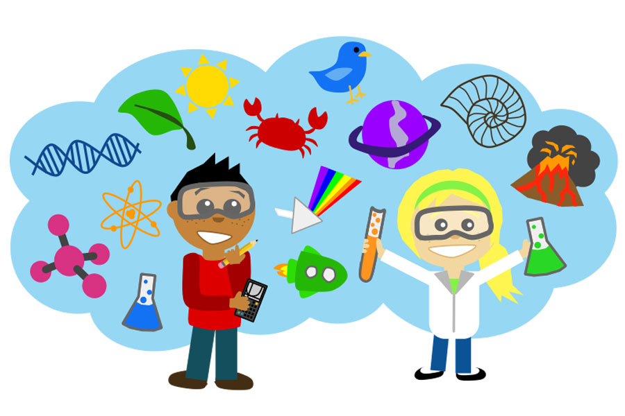 Kids with science clipart svg Kids Science Clipart - Cliparts and Others Art Inspiration svg