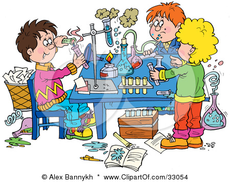 Kids with science clipart banner transparent Kids science experiments clipart - ClipartFest banner transparent