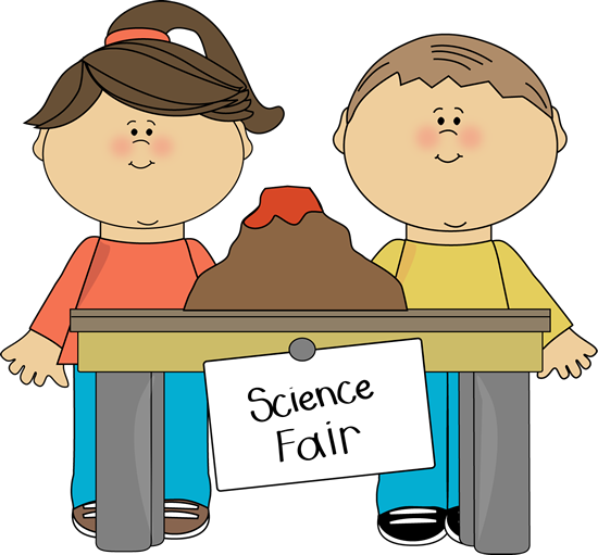 Kids with science clipart banner freeuse library Kids at Science Fair Clip Art - Kids at Science Fair Vector Image banner freeuse library
