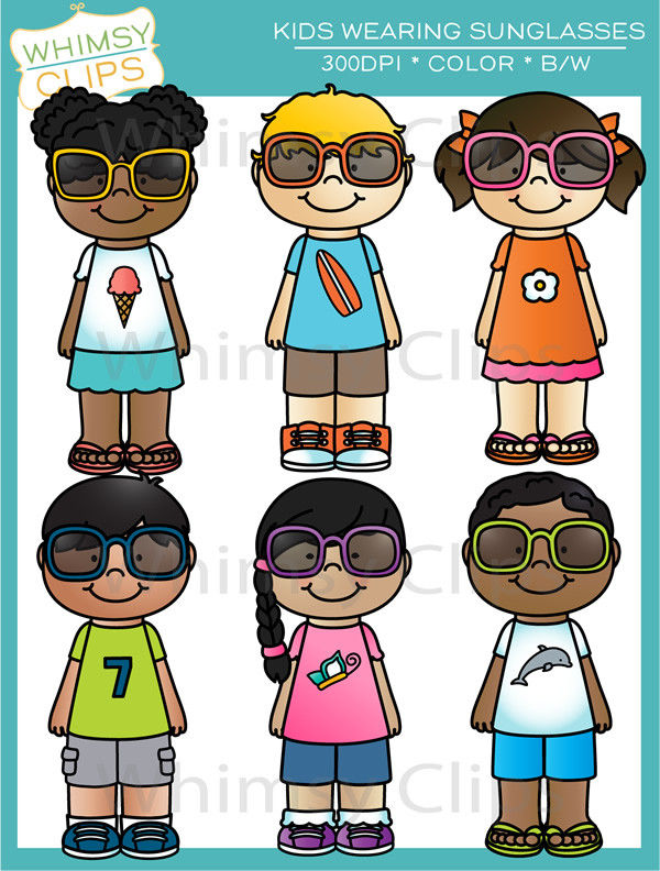 Kids with sunglasses clipart graphic free stock Kids sunglasses clipart - ClipartFest graphic free stock