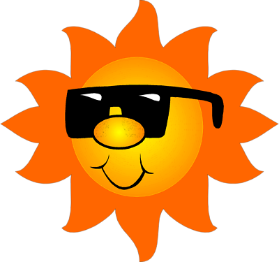Kids with sunglasses clipart clipart free Sun Pictures For Kids - ClipArt Best clipart free