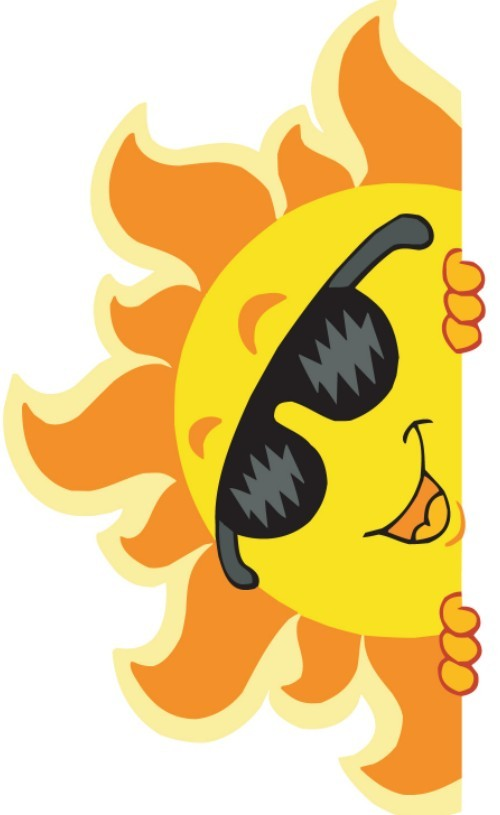 Kids with sunglasses clipart black and white library Summer Clipart | Free Download Clip Art | Free Clip Art | on ... black and white library