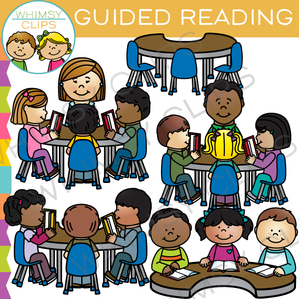 Kids working in groups clipart image library stock Group Guided Reading Clip Art image library stock