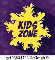 Kidzone clipart vector transparent Kidzone Clip Art - Royalty Free - GoGraph vector transparent