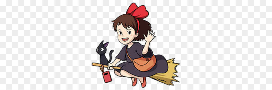 Kikis delivery service clipart transparent library Cartoon Cartoon clipart - Japan, Cartoon, Art, transparent ... transparent library