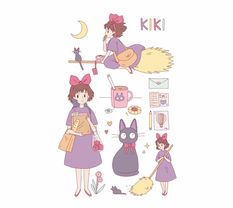 Kikis delivery service clipart download Kiki Delivery - Kiki\'s Delivery Service Reference ... download