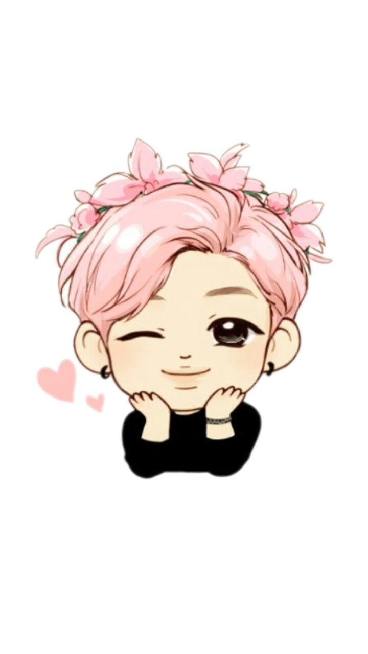 Kim namjoon clipart clip library pink namjoon bts kim namjoon bangtan freetoedit... clip library