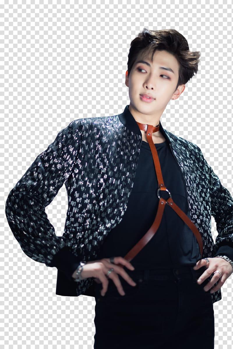 Kim namjoon clipart graphic royalty free stock Namjoon BTS, man posing for transparent background PNG ... graphic royalty free stock